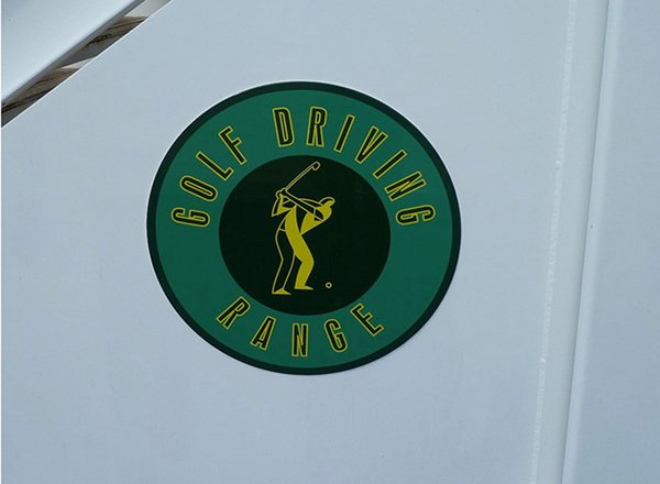 Golf Driving Net on Pride of America