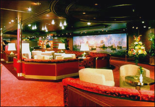 Explorer''s Lounge on Prinsendam
