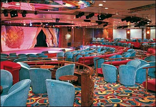 Queen''s Lounge on Prinsendam
