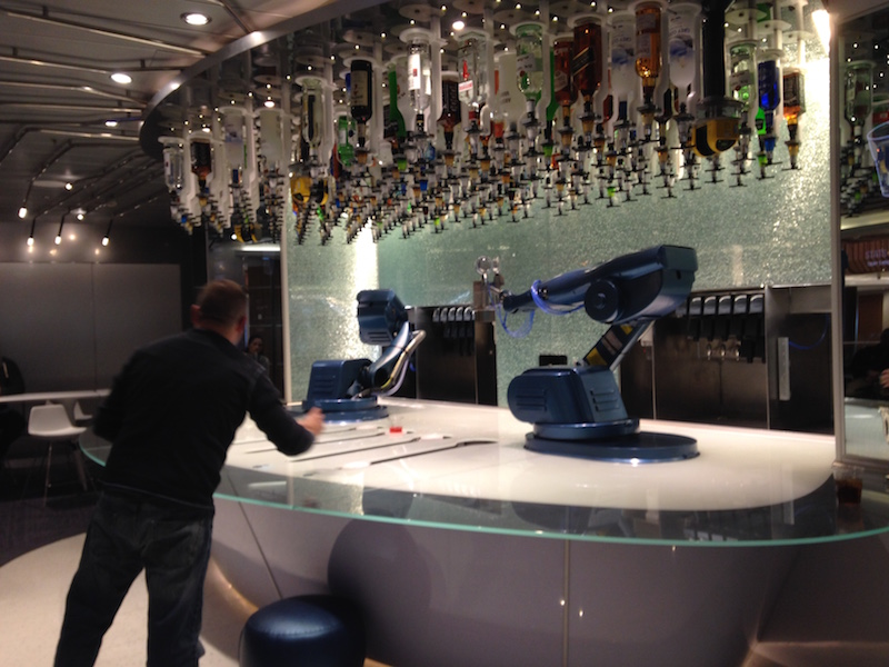 Bionic Bar on Quantum of the Seas