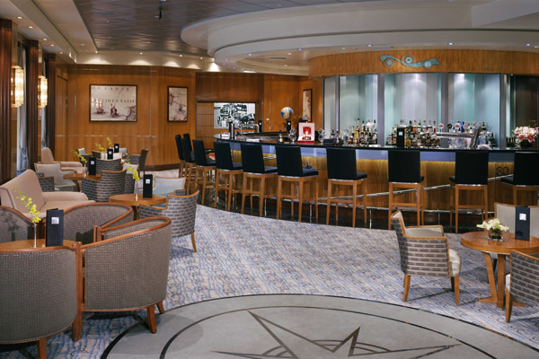 ChartRoom on Queen Mary 2