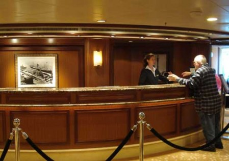 Tour Office on Queen Mary 2