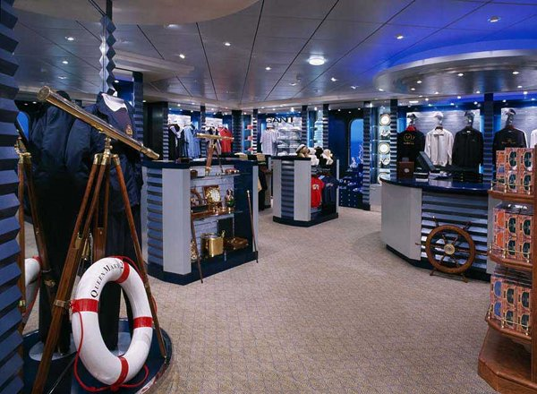Mayfair Shops on Queen Mary 2