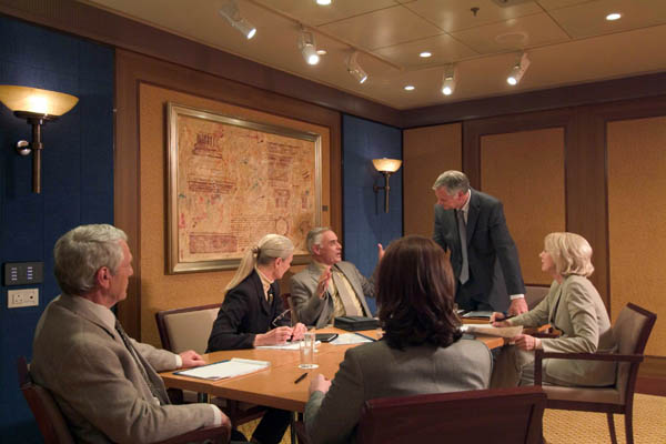 Boardroom on Queen Mary 2
