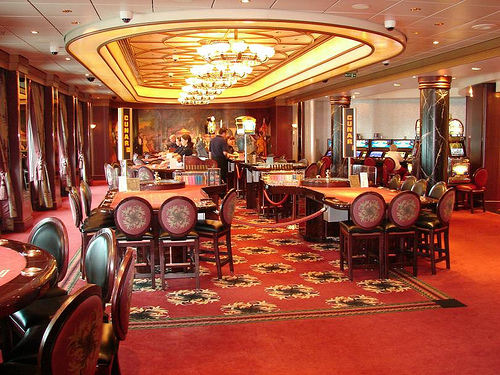 Empire Casino on Queen Mary 2