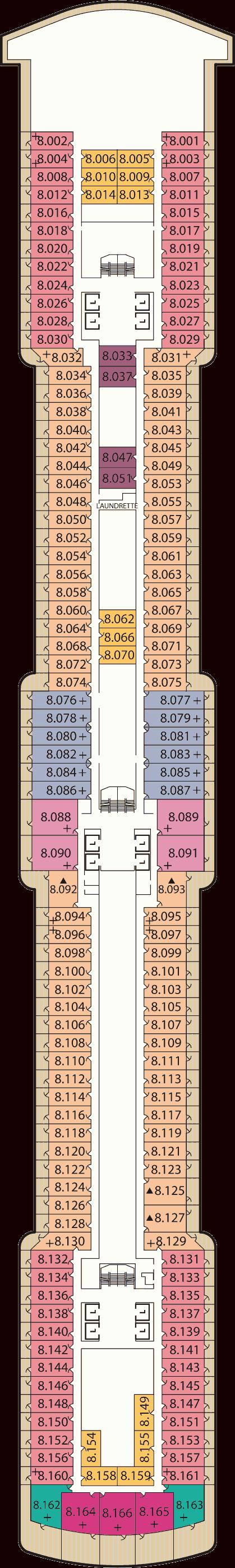 Queen Victoria Deck Plans