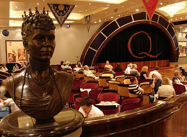 Queens Room on Queen Victoria