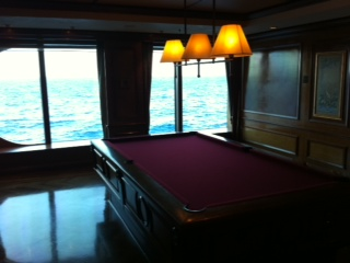 Billiards Club on Radiance of the Seas