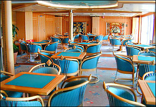 Card Room on Radiance of the Seas