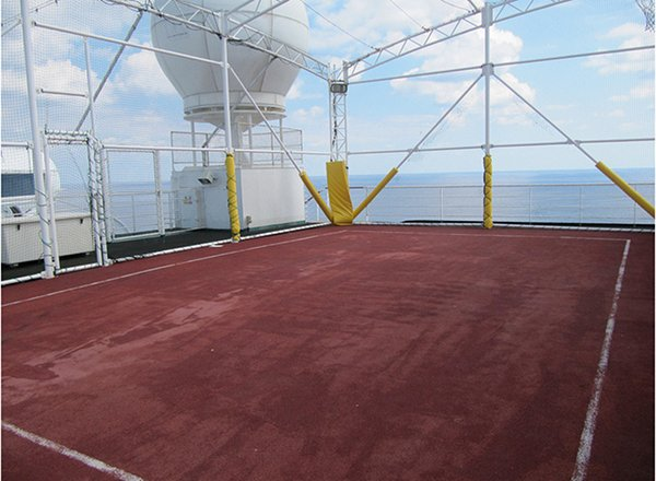Sports Court on Regal Princess