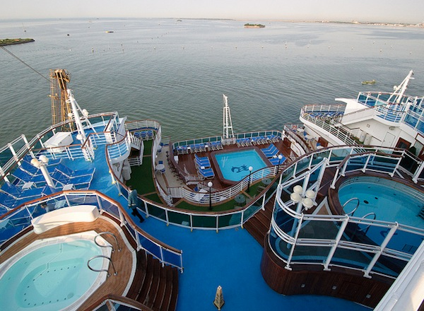 Hot Tubs on Regal Princess
