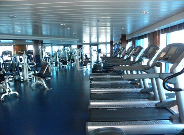 Fitness Center on Regatta