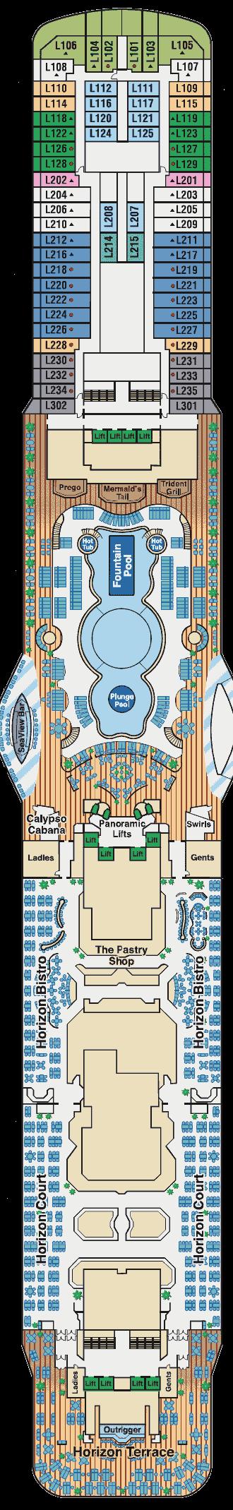 royal princess deck plan pdf
