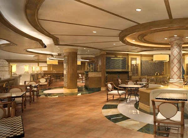 Alfredo''s Pizzeria on Royal Princess