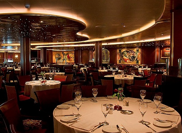 Crown Grill on Ruby Princess