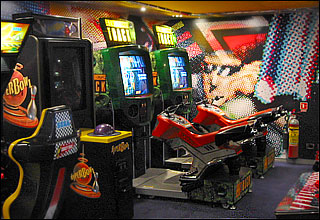 Video Arcade on Ryndam