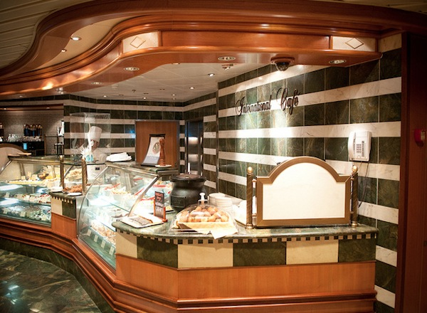 International Cafe on Sapphire Princess
