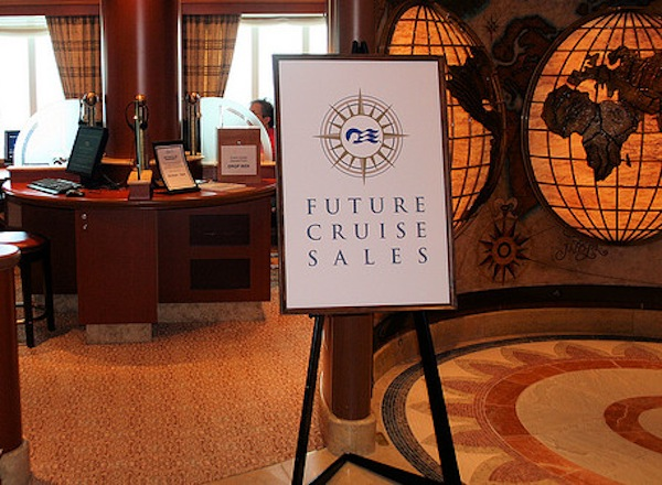 Future Cruise Sales on Sapphire Princess