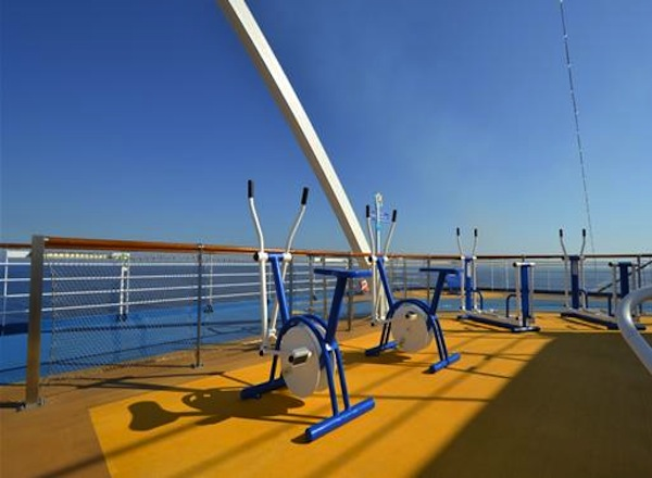 Outdoor Play Area on Sapphire Princess