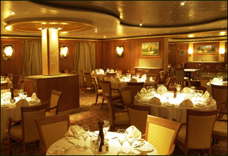 International Dining Room on Sapphire Princess