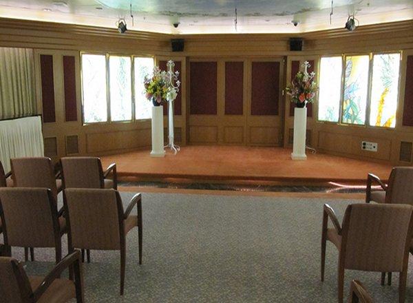 Wedding Chapel on Sapphire Princess