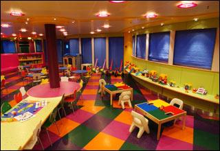 Fun Zone on Sea Princess