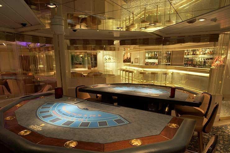 Casino on Seabourn Legend