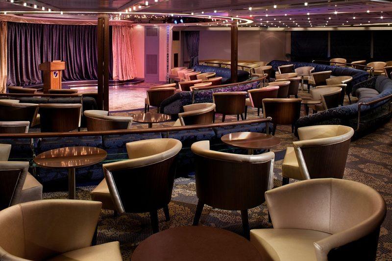 Show Lounge on Seabourn Legend