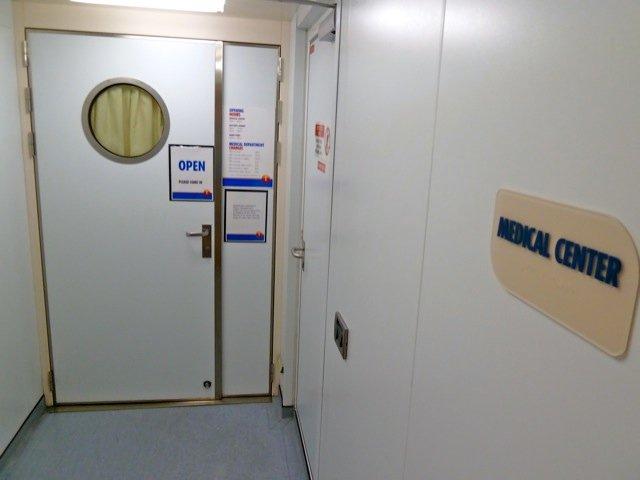 Medical Facility on Seabourn Legend