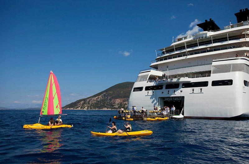 Marina on Seabourn Odyssey