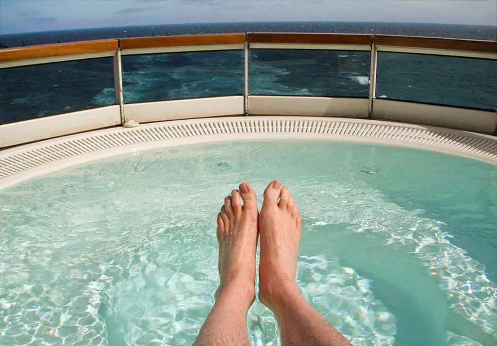 Whirlpool Deck 6 on Seabourn Odyssey