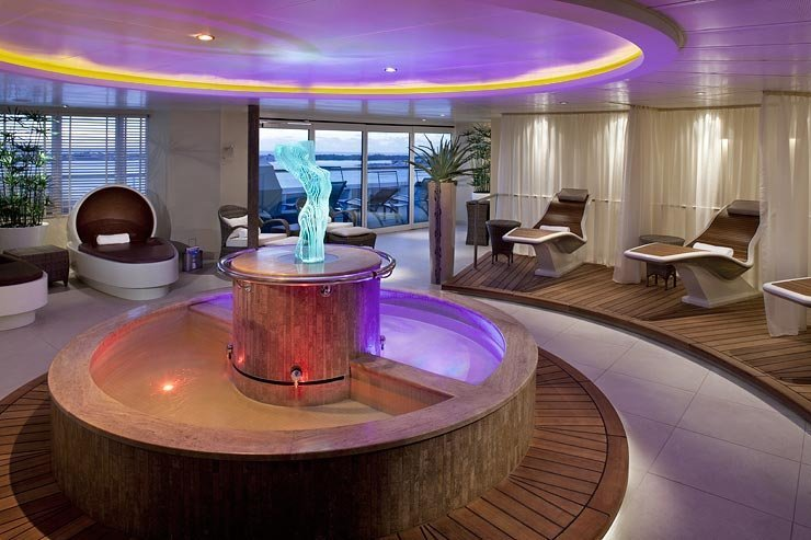 The Spa at Seabourn on Seabourn Pride