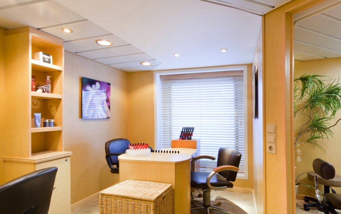 Beauty Salon on Seabourn Pride