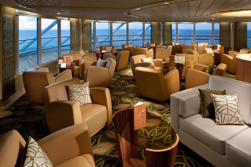 Observation Lounge on Seabourn Pride