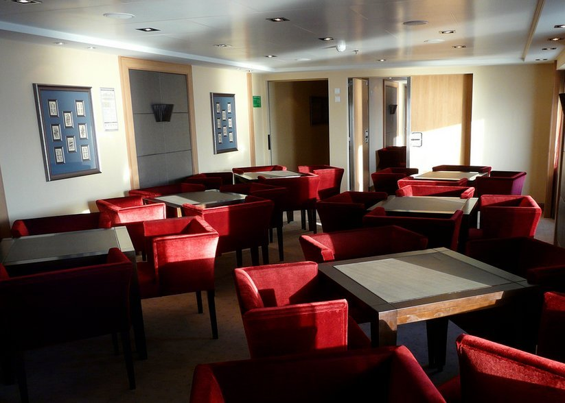 Card Room on Seabourn Quest