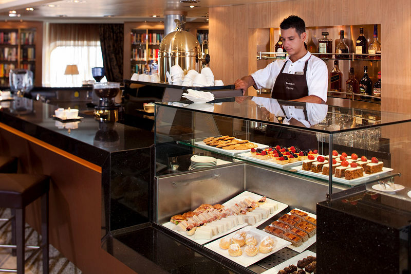 Coffee Bar on Seabourn Quest