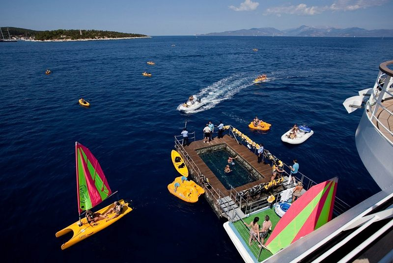 Marina Pool on Seabourn Quest