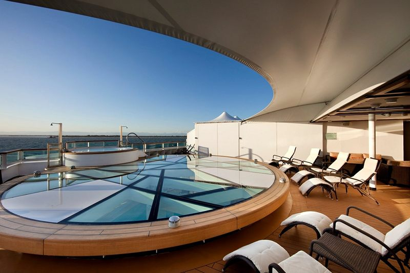 Spa Terrace on Seabourn Sojourn
