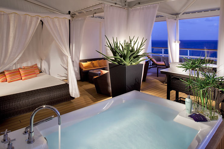 Spa Villa on Seabourn Sojourn