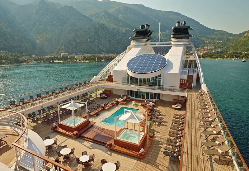 Whirlpools on Seabourn Sojourn