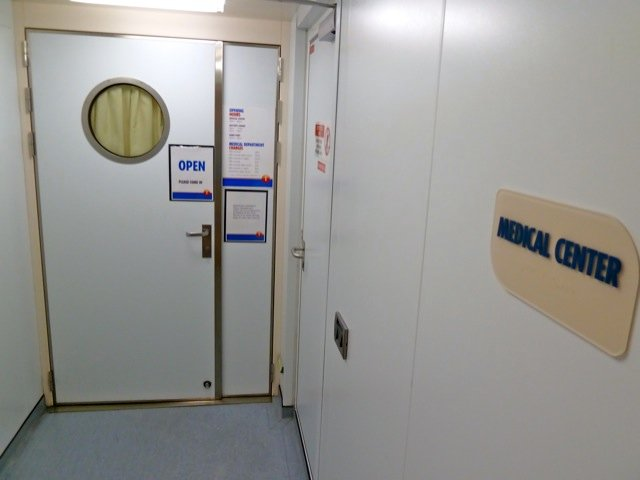 Medical Facility on Seabourn Sojourn