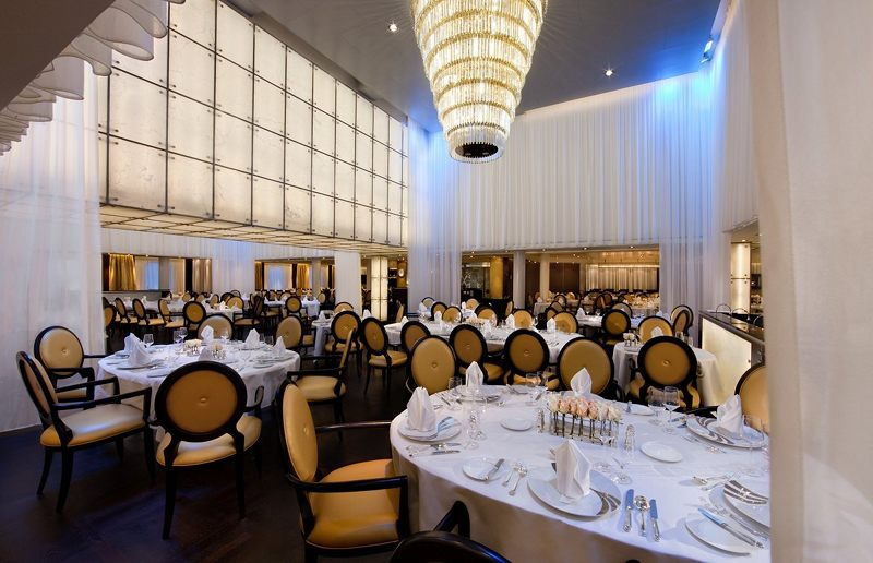 The Restaurant on Seabourn Spirit