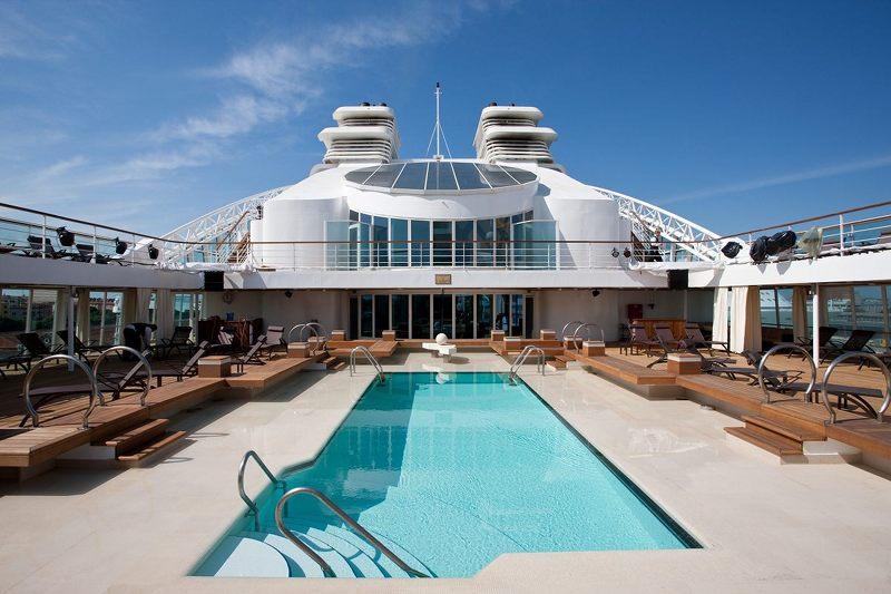 Main Pool on Seabourn Spirit