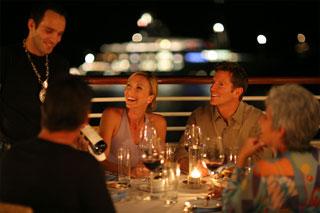 The Topside Restaurant on SeaDream II