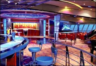 Vortex Nightclub on Serenade of the Seas