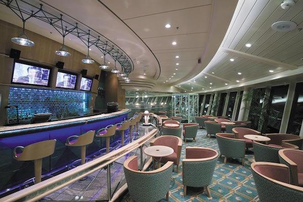 Viking Crown Lounge on Serenade of the Seas