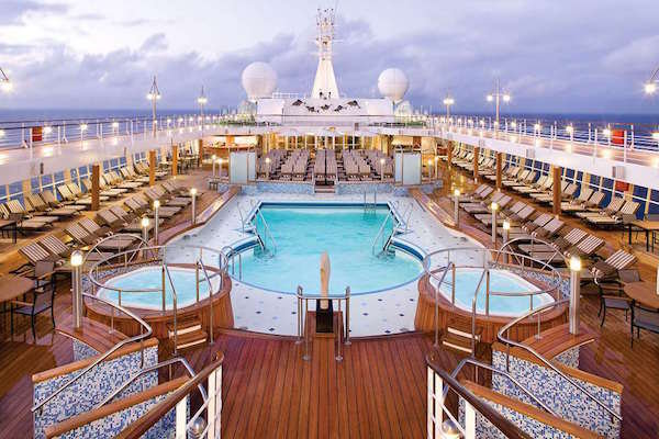 Pool on Seven Seas Explorer