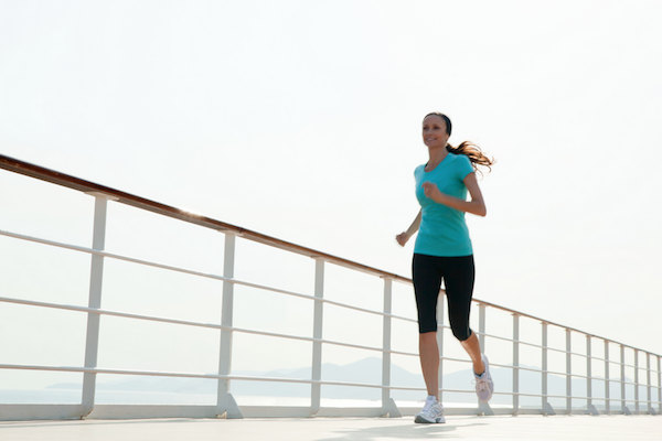 Jogging Track on Seven Seas Explorer