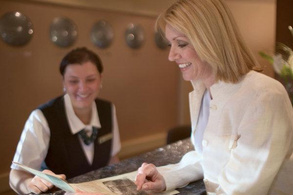 Reception and Concierge on Seven Seas Explorer