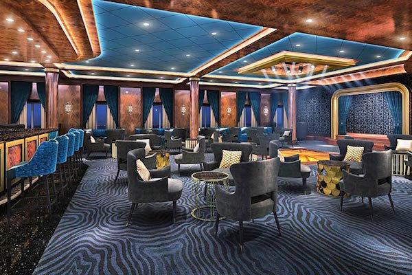 Explorers Lounge on Seven Seas Explorer